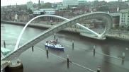 Уникален подвижен мост!