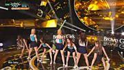 228.0722-3 Brave Girls - High Heels, Music Bank E846 (220716)