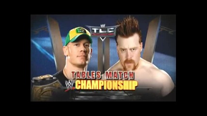 Tlc John Cena vs Sheamus