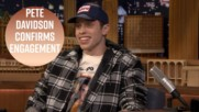 Pete Davidson doesn't know why people care he's engaged to Ariana Grande