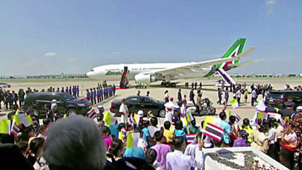 Thailand: Pope Francis arrives in Bangkok 'to strenghten bonds of friendship'