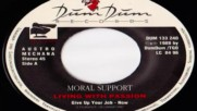 Moral Support - Living With Passion'83