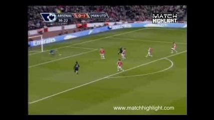 Арсенал - Манчестър Юнайтед 1:3 Гол На Рууни