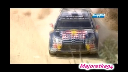 Kimi at Rally Portugal 2010 - Wrc ;]