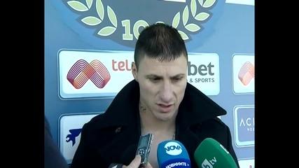 """Вижте как дойде Йоргачевич на """"Герена"""" и първото му интервю в Левски"""