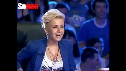 Тоя ще ви пръсне от смях - X - Factor България 11.09.11