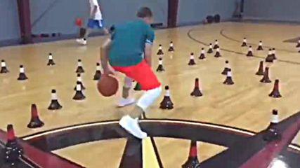 Уникални баскетболни умения - про тренировка