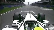 F1 2009 - Андрю Шовлин коментира обиколката на Бътън - Испания