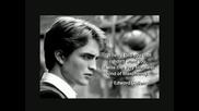 Edward Cullen Quotes - Featuring Robert Pattinson
