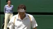 Wimbledon 2007 : Гаске - Федерер