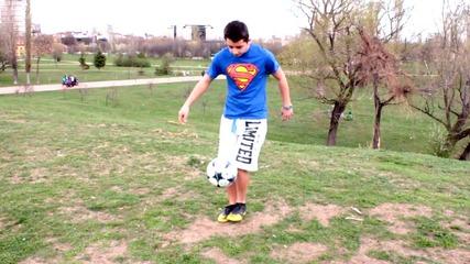 Freestyle Football Урок (за начинаещи)