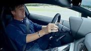 Супер автомобил Lamborghini Aventador 0-300км/ч !