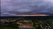 Time lapse - буря в Роджърс, Минесота