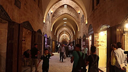 Syria: Restored historic al-Saqatiyah Market reopens in Aleppo
