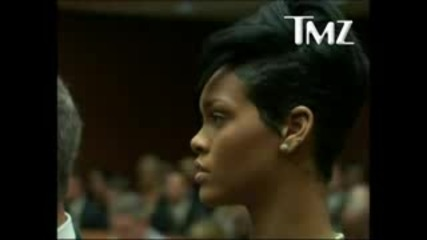 Rihanna inside Chris Brown Court Appearance in Los Angeles - Jun 22nd 2009 Hq