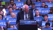 Sanders Rallies Thousands Ahead of Connecticut Primary