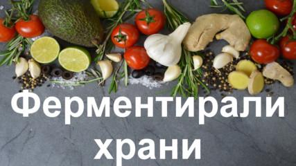Най-полезните ферментирали храни
