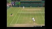 Wimbledon 2004 : Федерер - Родик | последни точки