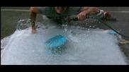 Експлозия Memorial Вода балон, напълнен в Slow Motion