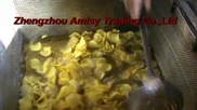 French Fries Frying Machine, Potato Chips Frying Food Frying