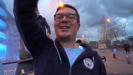UK: 'Absolutely fantastic' - Man City fans celebrate English Premier League win