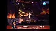 X Factor Bulgaria 05.12.2013 - Theodora Tsoncheva - Minavash prez men
