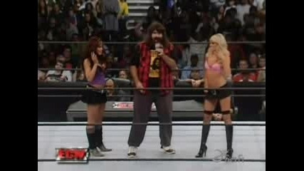 Kelly Melina & Mick Foley