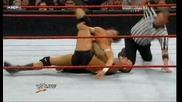 Raw 06/29/09 Randy Orton vs Evan Born [ Gautlet match 3 on 1]*първа част*