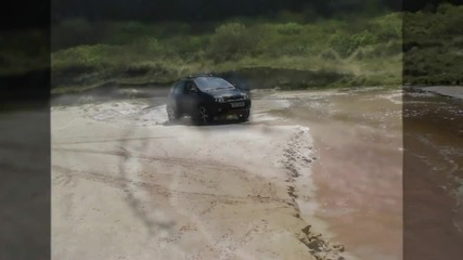Renault Scenic Rx4 - Fun on beach :-)
