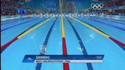 Олимпийски игри 2012 - Плуване Мъже 100 метра бруст Финал