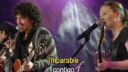 Tommy Torres - Imparable Duet with Jesse & Joy [Karaoke] (Оfficial video)