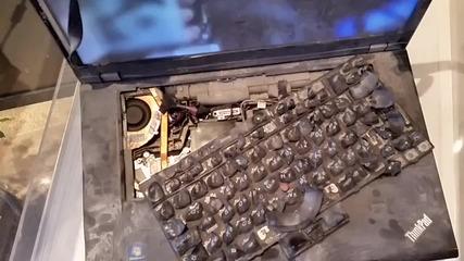 [бг] Да запалим лаптоп! ...дали ще работи? [full Hd] Видео заснето със Samsung Galaxy S5