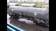 Железопътна цистерна - вакуумна имплозия