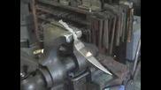 Коване на титаниев нож