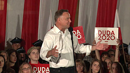 Poland: Duda ends reelection campaign with rally in Zamosc