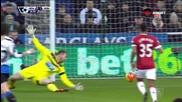 Нюкасъл Юнайтед - Манчестър Юнайтед 1:2 /първо полувреме/