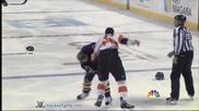 Здрав бои между хокеисти !