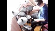Слави Трифонов Кажи на майка си drum cover