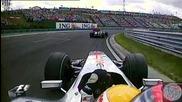 F1 2009 - Хамилтън изпреварва Уебър за второто място - Унгария