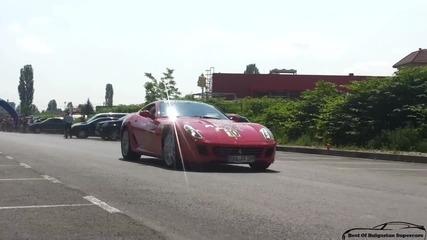 Ядосано Ferrari 599 Gtb в София !