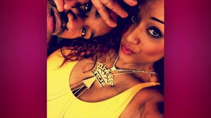 Chris Brown Brings Daughter Royalty to 2015 Billboard Music Awards