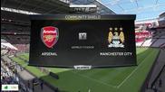 Fifa 15 Pc Gameplay { Arsenal vs Manchester City }