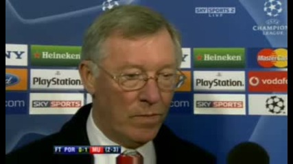 Alex Ferguson Interview - 15.04.09