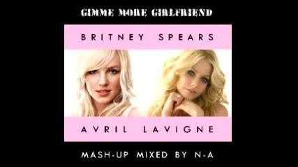 Britney Spears vs Avril Lavigne - Gimme More Girlfriend
