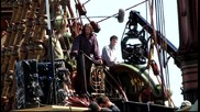 The Chronicles of Narnia - Voyage of the Dawn Treader Set - Ben Barnes and Skander Keynes