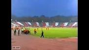Cska Sofia - Blackburn Rovers - The red fans