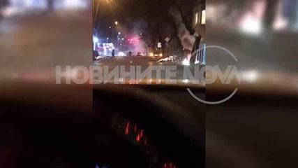 Пожар избухна в магазин за фойерверки в Пловдив
