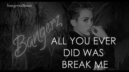 Н Е В Е Р О Я Т Н А ! Miley Cyrus - Wrecking Ball