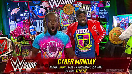 The New Day break down WWE Shop's incredible Cyber Monday deals