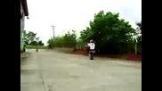 Honda 1000rr stunt